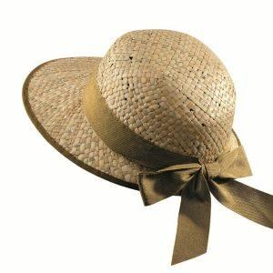 letný slamený klobúk dámsky