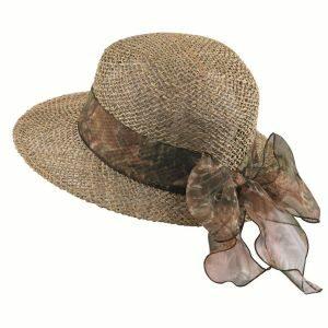 dámsky slamený letný klobúk
