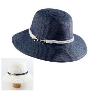 dámsky námornícky letný klobúk
