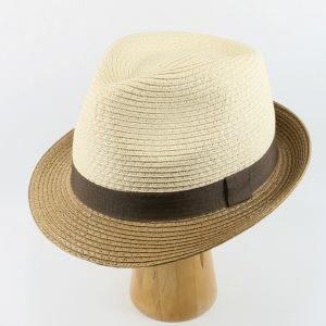 letný klobúk béžový