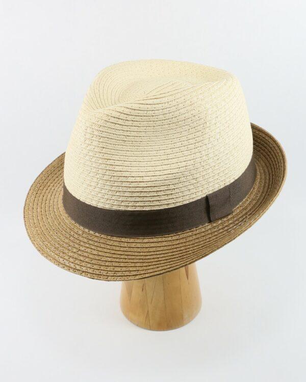 letný klobúk béžový 2665 (1)