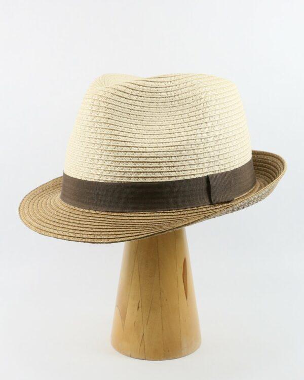 letný klobúk béžový 2665 (2)