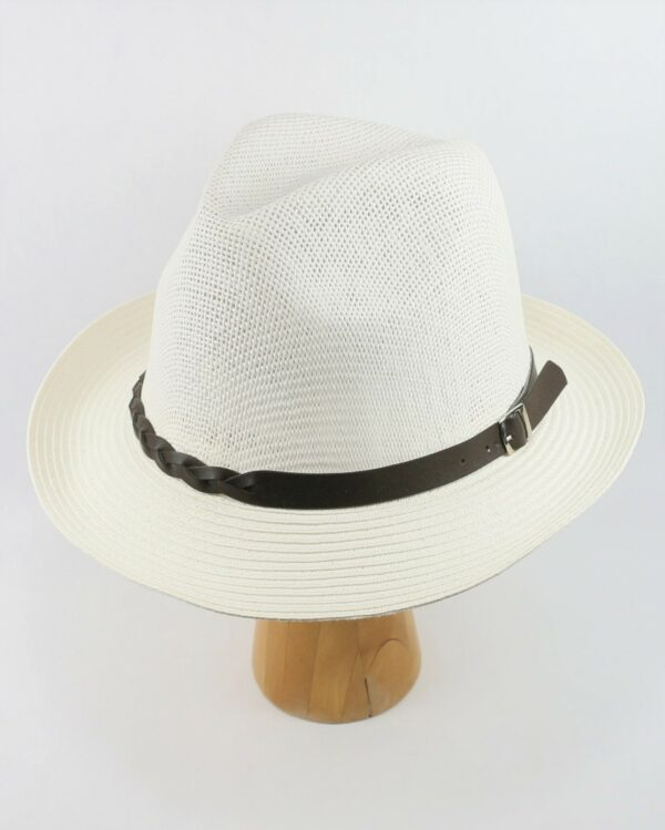 letný klobúk biely 2678 (3)