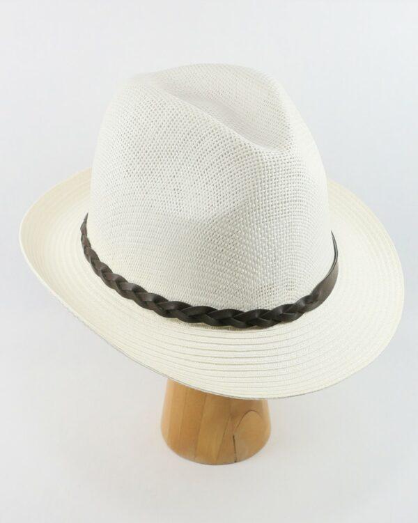 letný klobúk biely 2678 (4)