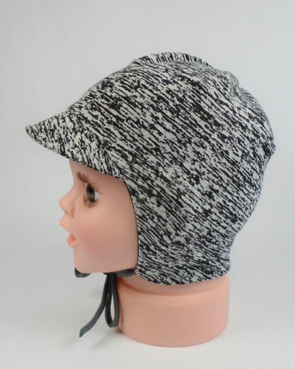 detská bavlnená čiapka so šiltom A 5875 2
