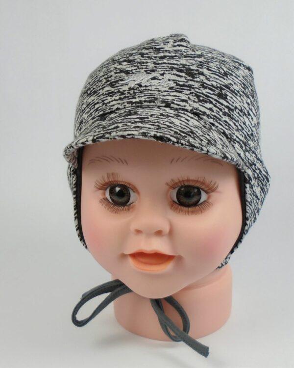 detská bavlnená čiapka so šiltom A 5875