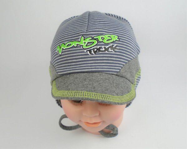 detská čiapka so šiltom bavlnená A 5941 2