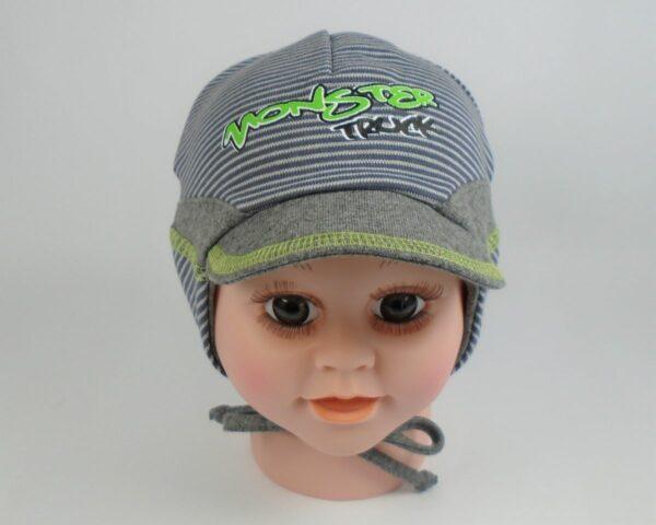 detská čiapka so šiltom bavlnená A 5941 7