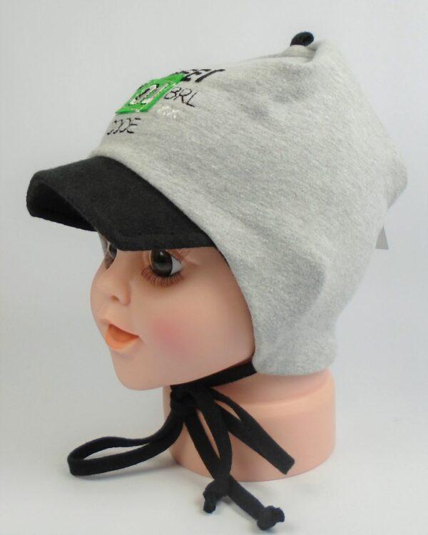 jarná detská čiapka so šiltom jesenná A 9036 2