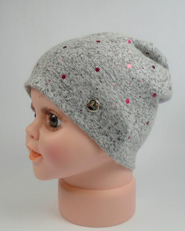 jemná detská čiapka na jar a jeseň A 9070 1