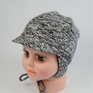 detská bavlnená čiapka so šiltom