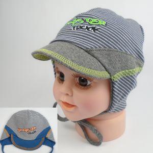 detská čiapka so šiltom bavlnená