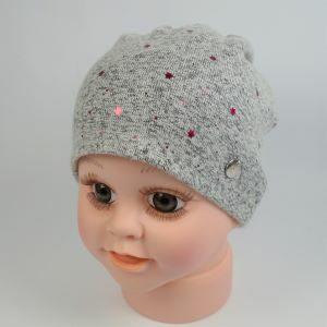 jemná detská čiapka na jar a jeseň