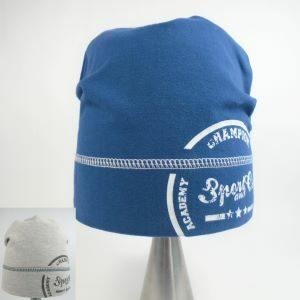 detská čiapka s lemom