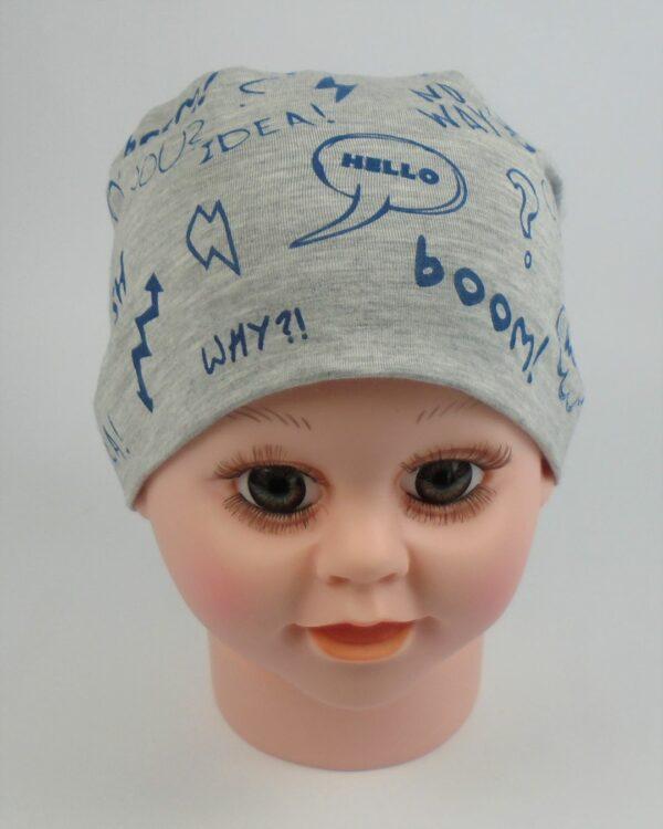 tenká detská čiapka jar leto A 9546 15