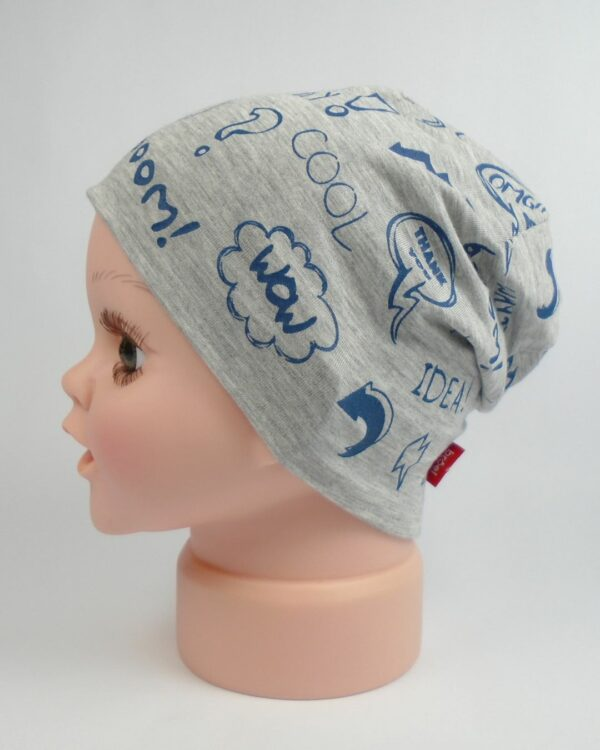 tenká detská čiapka jar leto A 9546 5