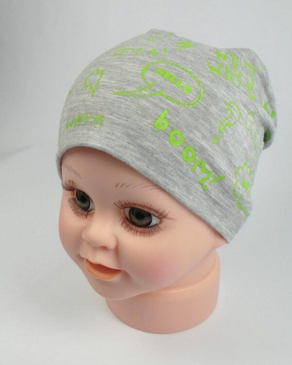 tenká detská čiapka jar leto A 9546 8
