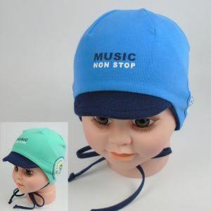 detská čiapka so šiltom na ja leto