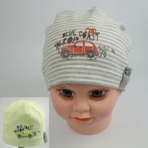 bavlnená čiapka pre deti